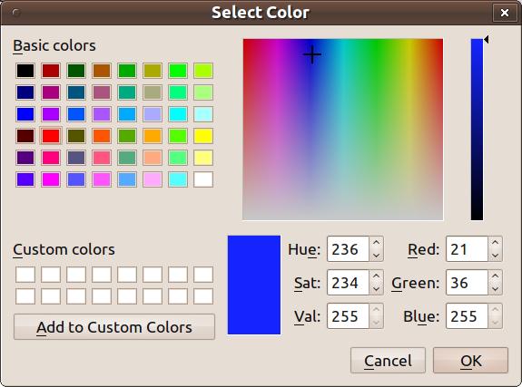 Qt - získání barvy - krok 2
